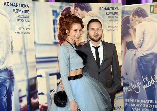 Denisa s přítelem Danem Pánkem