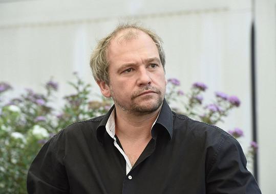 Marek Taclík na tiskové konferenci k filmu Padesátka