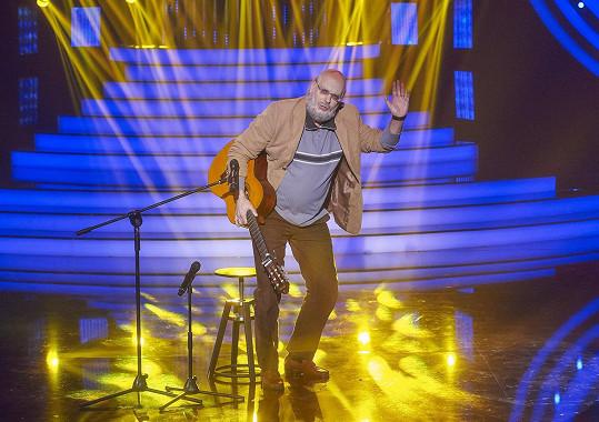 Petr Rychlý exceloval s písničkou Zvony zvoní jen chvíli od Honzy Nedvěda.
