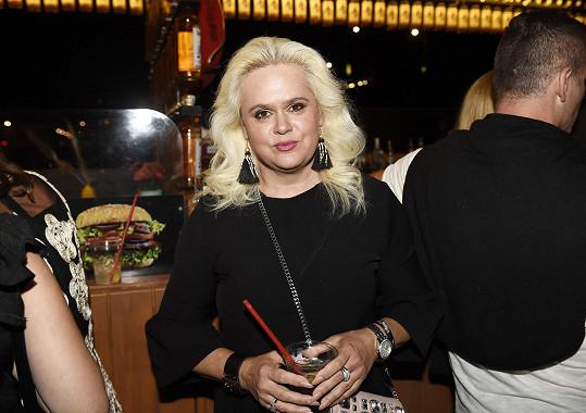 Na oslavu přišla i Monika Štiková.