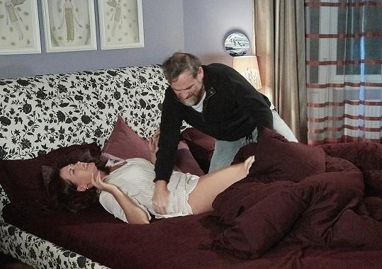 Dana Morávková a Ján Jackuliak natáčí v Ordinaci hodně drsné scény.
