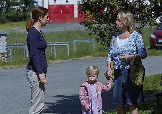 V seriálu Policie Modrava jí zavraždili dceru.