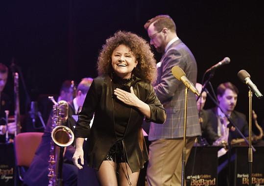 Jitka Zelenková zpívala na koncertě k narozeninám Karla Štědrého.
