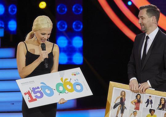 Vítězkou páté řady se stala Míša Badinková.