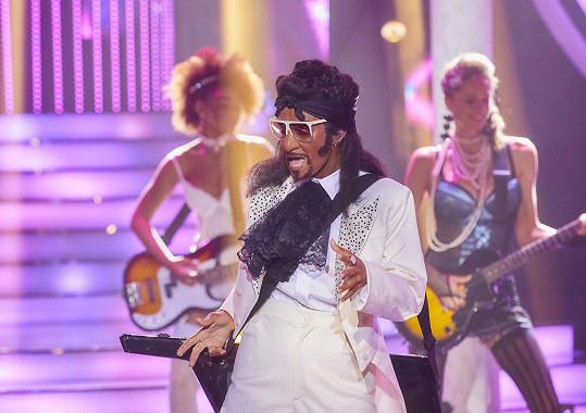 Herečka se předvedla jako raper Snoop Dogg.