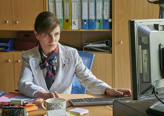 Jana Krausová je jednou z hvězd seriálu Pan profesor.