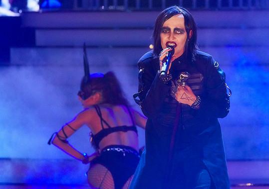 Když se na pódiu předvedla jako extravagantní Marilyn Manson, šel z ní strach.