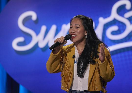 Teď to zkouší v SuperStar. Jak vaření, tak zpěv jsou její velké vášně.