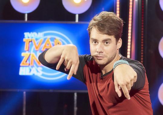 Patrik Děrgel v show Tvoje tvář má známý hlas
