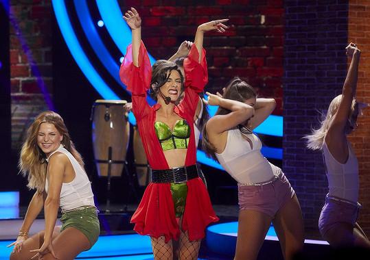 Burešová se tentokrát představila jako Demi Lovato.