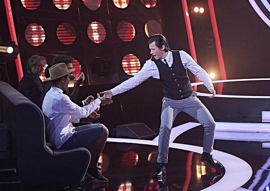 Adam Mišík působil v první řadě pořadu Tvoje tvář má známý hlas.