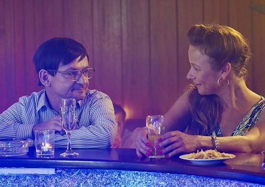 Michal Suchánek a Petra Špalková jsou ve filmu Pepa manželé.