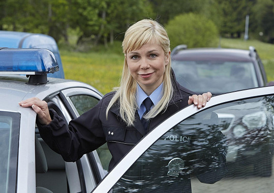 Jaroslava Stránská aktuálně hraje v seriálu Policie Modrava.