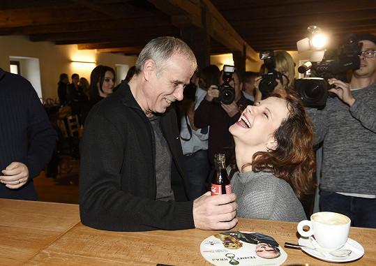 Kristýna hraje v novém seriálu Temný Kraj policistku společně s Lukášem Vaculíkem.