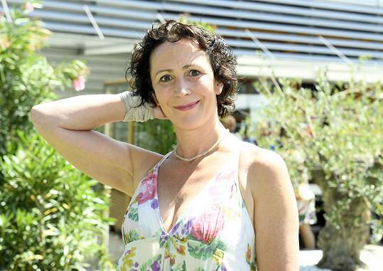 Gratulovala i Kristýna Frejová.