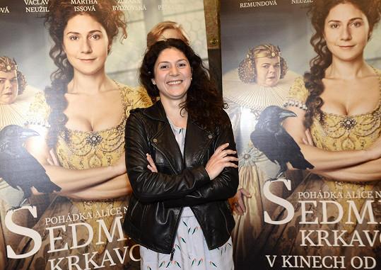 Martha s filmovým plakátem