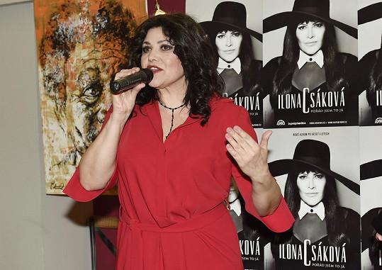 Csáková slaví 32 let na hudební scéně.