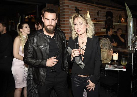 Marek Peksa s Kateřinou Kairou Hrachovcovou