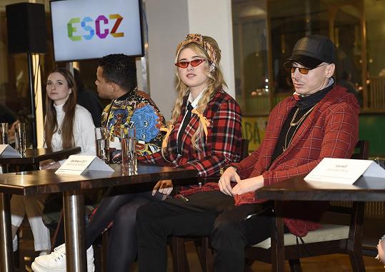 S Elis jsme si povídali na tiskovce k národnímu kolu Eurovision Song CZ 2020.