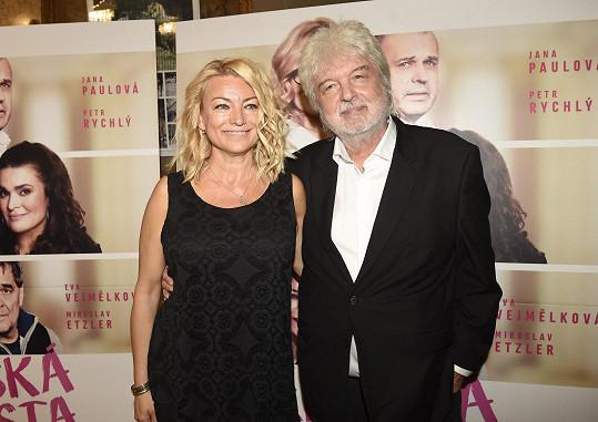 S manželem, režisérem Dušanem Rapošem