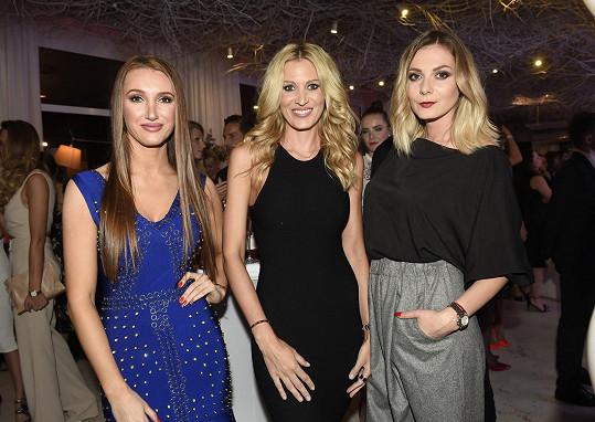 S kolegyněmi z modelingu Katkou Průšovou a Táňou Makarenko probíraly Výměnu manželek.