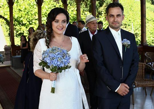 Libuška Vojtková a Zdeněk Rohlíček se dnes vzali.