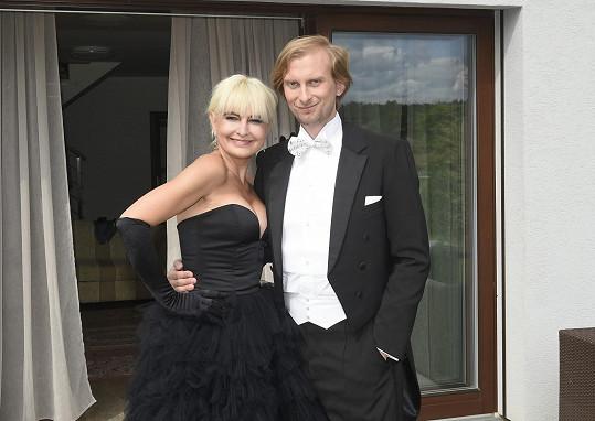 Ivo Kahánek často podporuje filantropické aktivity Barbary Nesvadbové.