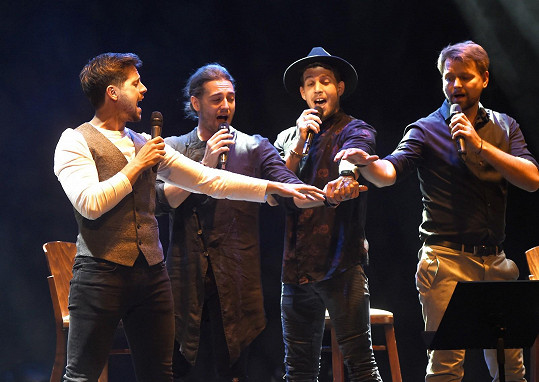 Svůj koncert plánují zpěvácí brzy zase zopakovat.