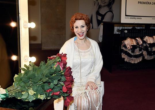 Monika Absolonová si postavu skutečné herečky Fanny Briceové zahraje již ve třetím muzikálovém zpracování.