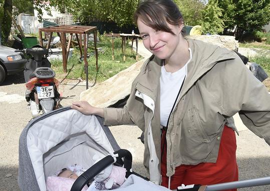 Berenika přivedla na svět své první dítě letos v únoru.