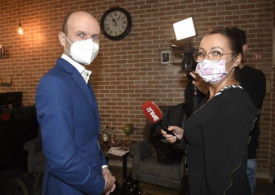 Dalibor při rozhovoru se Super.cz
