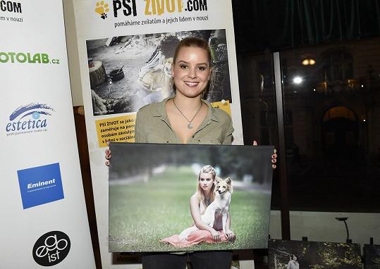 Patricie připravila projekt, který pomáhá opuštěným psům.