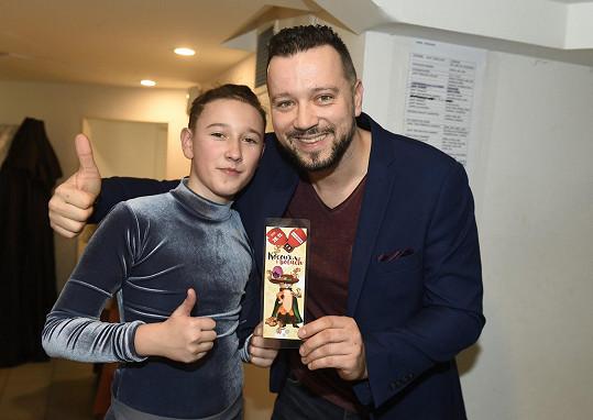 Kavalčík bude s Alexem v představení Kocour v botách hrát už 9. prosince.