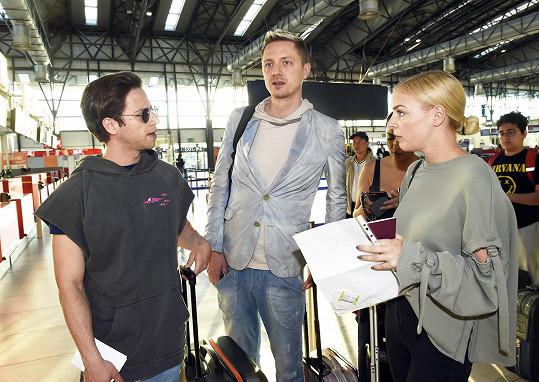 Kolegové z Tváře - Milan Peroutka, Ondřej Ruml a Markéta Konvičková