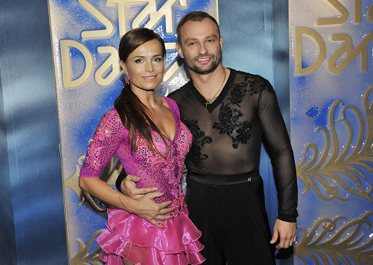 Marek Dědík tento ročník tančí s Olgou Šípkovou.