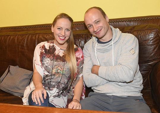 Markéta s manželem Tadeášem