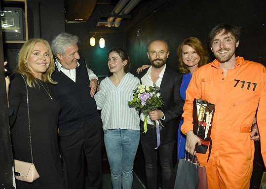 Gratulovat přišla i Dagmar Havlová.