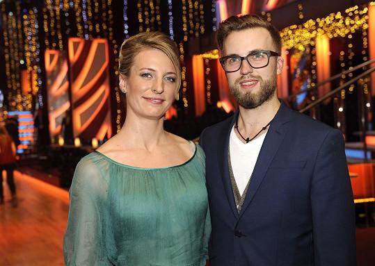 Polívková a Kurtiš si nenechali ujít finále StarDance.