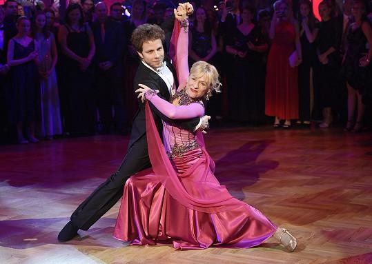 Dana Batulková a Jan Onder to znovu rozjeli na tanečním parketu.