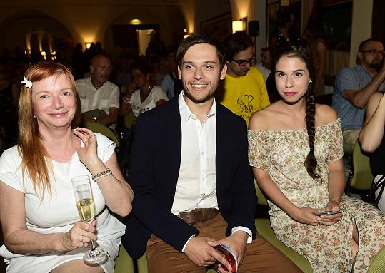 S kolegy na párty TV Nova