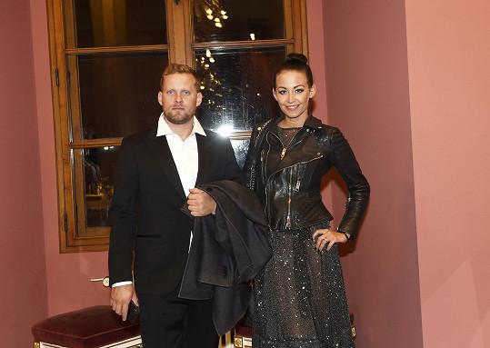 Jakub Prachař s manželkou Agátou