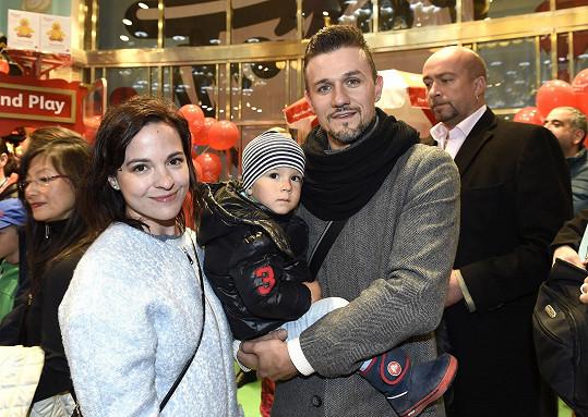 Janáčková se synem a partnerem Michalem