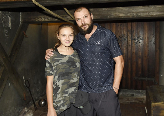 Tomáš vyrazil s dcerou na představení únikové hry na historické téma z období Rudolfa II.