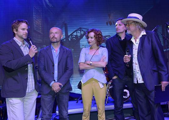 Film Wilsonov zastupovala na RWE párty Tatiana Pauhofová.