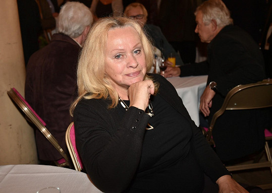 Také exmanželka Miloše Formana Věra Křesadlová