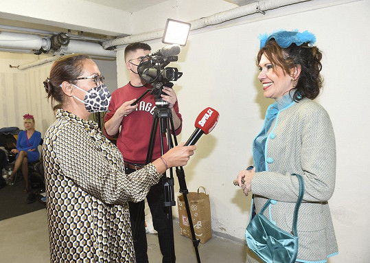 Míša při rozhovoru se Super.cz