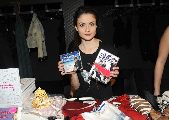 Eva Josefíková prodávala i filmy, v nichž hrála.
