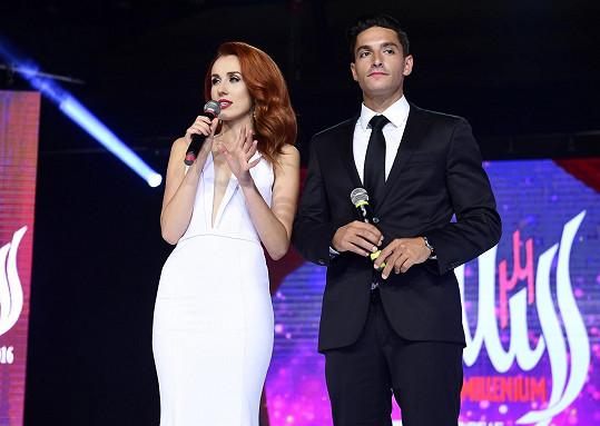 Michal Hrdlička spolumoderoval Miss a Mister Deaf World & Europe & Asia 2016.