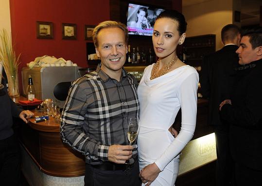 Kateřina s přítelem Jiřím Wohlmannem