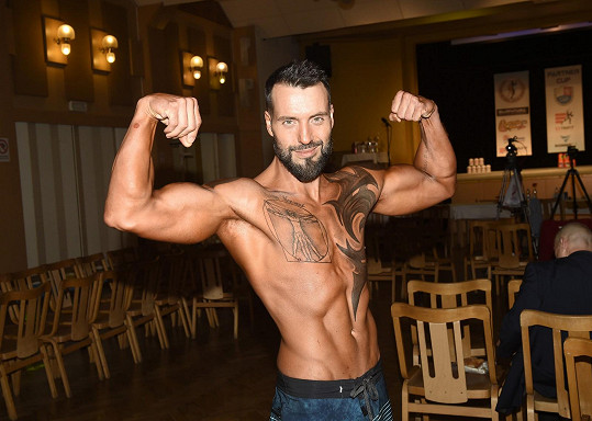 Václav Noid Bárta má za sebou již druhou soutěž ve fitness.
